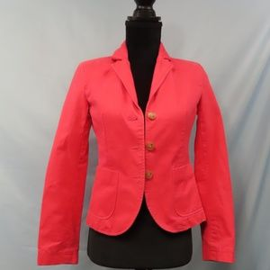 Fully Lined  Pink J. Crew Blazer/Jacket